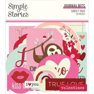 Die Cuts Journal Simple Stories Sweet Talk