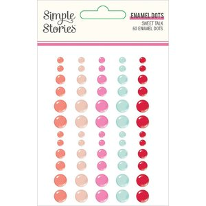 Enamel Dots Simple Stories Sweet Talk
