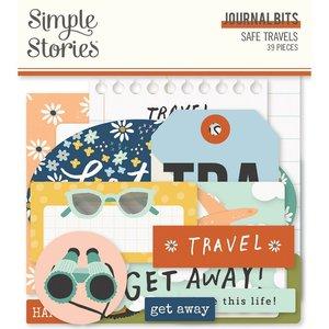 Die Cuts Journal Simple Stories Safe Travels