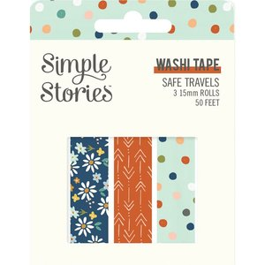 Washi Tapes Simple Stories Safe Travels