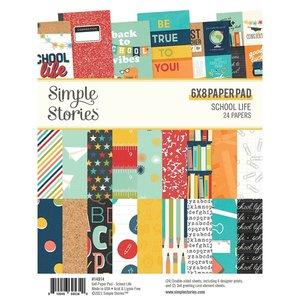 "Pad 6x8"" Simple Stories School Life"