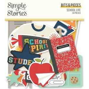 Die Cuts Simple Stories School Life