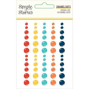 Enamel Dots Simple Stories School Life