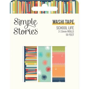 Washi Tapes Simple Stories School Life