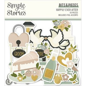 Die Cuts Simple Stories Happily Ever After