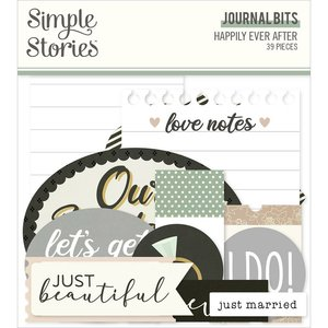 Die Cuts Journal Simple Stories Happily Ever After