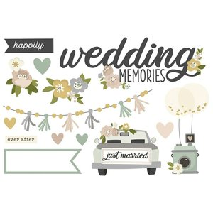 Die Cuts Page Pieces Simple Stories Happily Ever After