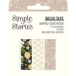 Washi Tapes Simple Stories Happily Ever After