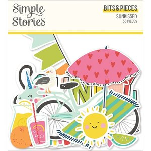 Die Cuts Simple Stories Sunkissed