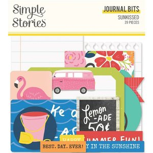 Die Cuts Journal Simple Stories Sunkissed