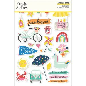 Libreto de pegatinas Simple Stories Sunkissed