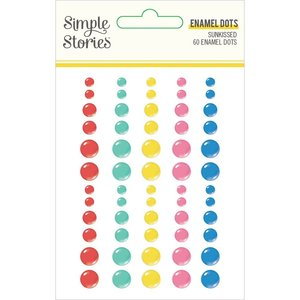 Enamel Dots Simple Stories Sunkissed
