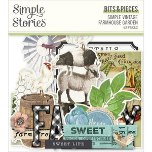 Die Cuts Simple Stories Farmhouse Garden