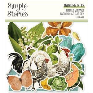 Die Cuts Floral Simple Stories Farmhouse Garden
