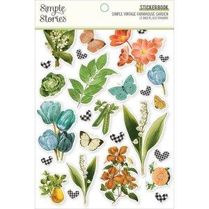 Libreto de pegatinas Simple Stories Farmhouse Garden
