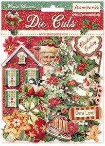 Die Cuts de chipboard Stampería Christmas Classic