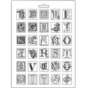 Molde flexible A4 Stampería Calligraphy Alphabet