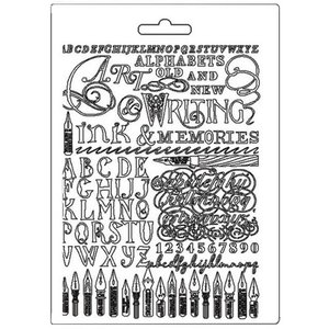 Molde flexible A5 Stampería Calligraphy Ink & Memories