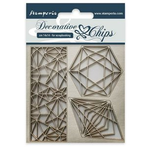 Stampería Decorative Chips Geometry