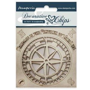 Stampería Decorative Chips Compass