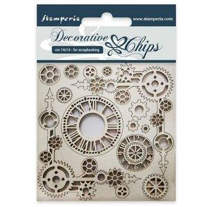 Stampería Decorative Chips Clock & Corners