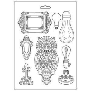 Molde flexible A4 Stampería Sir Vagabond Owl & Memories