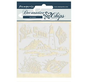 Stampería Decorative Chips Romantic Sea Dreams