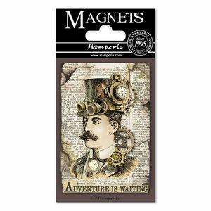 Imán Stampería Magnets Voyages Fantastiques Mr