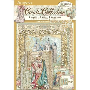 Cards Collection Stampería Sleeping Beauty