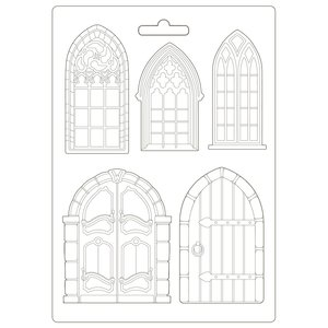 Molde flexible A4 Stampería Sleeping Beauty Doors & Windows