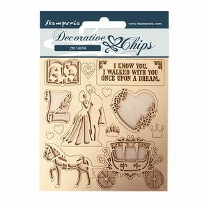 Stampería Decorative Chips Sleeping Beauty Coatch