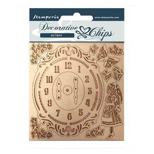 Stampería Decorative Chips Alice Clock