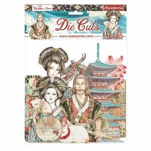 Die Cuts de chipboard Stampería Sir Vagabond in Japan