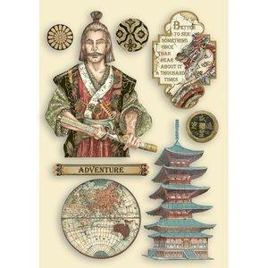 Maderitas coloreadas Stampería Sir Vagabond in Japan Samurai
