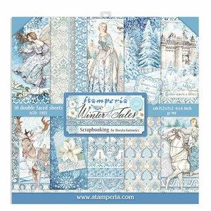 """Pad 6x6"""" Stampería Winter Tales"""