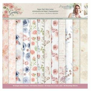 "Pad 6x6"" Sara Signature Col. Rose Garden 48 hojas"