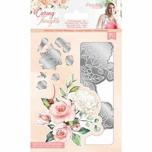 Troquel Sara Signature Col. Caring Thoughtd Floral 1