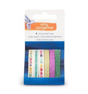 Washi Tapes Glitter Better Together