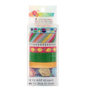 Set washi tape Sunshine and good times