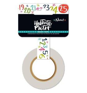 Washi Tape Christmas Countdown
