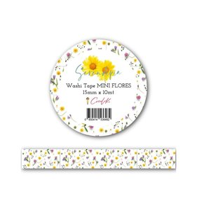 Washi Tape Serendipia Mini Flores