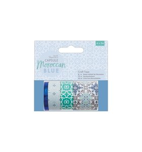 Set de Washi Tapes Moroccan Blue