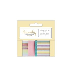 Set de Washi Tapes  Noteworthy Pastel