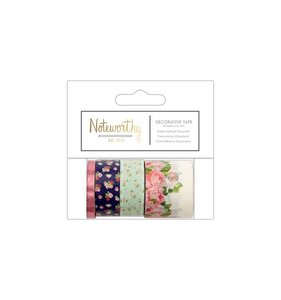 Set de Washi Tapes Graphic Florals