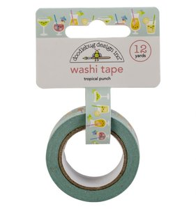 Washi Tape Tropical Punch
