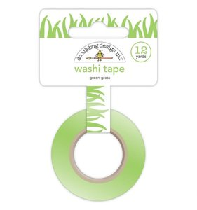 Washi Tape Doodlebug Green Grass
