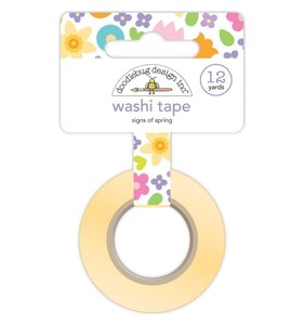 Washi Tape Doodlebug Sings of Spring