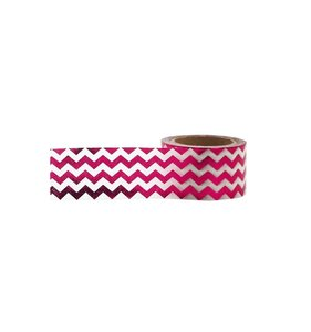 Pink Chevron Foil Tape