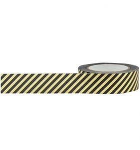 Diagonal Stripe Foil Tape