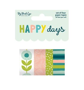 Set de Washi Tapes Happy Days